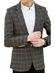 Autumn/new/man/fashion/coat/leisure/long/suit/han edition SLS-YF-X9617