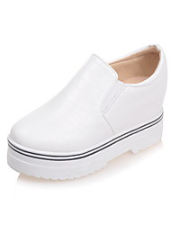 Winter Wedges / Heels / Platform / Comfort / Pointed Toe / Round Toe Patent Leather / LeatheretteOutdoor / Office