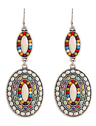 Fine Jewelry European Style High-Grade Charms Fashion Rhinestone Zinc Alloy Earrings