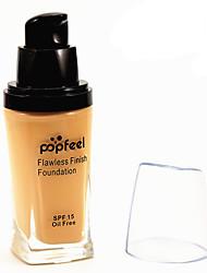 6 Fond de Teint Humide Crème Humidité / Protection Solaire / Couverture / Blanchiment / Anti Peau Grasse / Longue Durée / Correcteur /