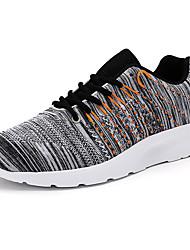 Men's Sneakers Comfort Denim Outdoor / Athletic / Casual Flat Heel  Blue / Gray Sneaker