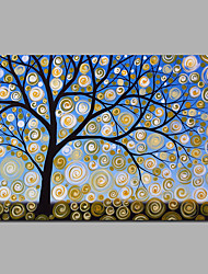 Money Tree Artwrok Modern Decorated Tree Artwork Stretchered