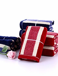 1PC Full Cotton Hand Towel Super Soft 13 by 29 inch Stripe Pattern