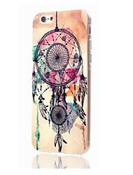 For iPhone 7 Plus Elegant Design Pattern Plastic Cover for iPhone 6