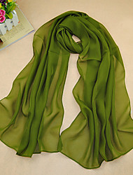 Women's Chiffon Solid Color Scarf,Army Green/Purple/Green/Red/Royal Blue/Yellow/Navy Blue