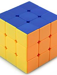 Shengshou® Glatte Geschwindigkeits-Würfel 3*3*3 Profi Level Druck-Helfer / Magische Würfel / Puzzle Spielzeug Weiß Plastik