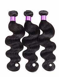 7A Peruvian Virgin Hair Body Wave 3 Bundles Peruvian Human Hair Weft Hair Extensions