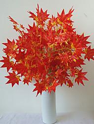 1 Une succursale Polyester Plastique Plantes Fleur de Table Fleurs artificielles 24.8'')63