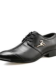 Femme-Décontracté-Noir-Talon Plat-Confort-Sneakers-Polyuréthane