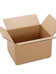 couleur jaune d'autres emballages de matériel&expédition boîtes d'emballage durs vierges un paquet de vingt