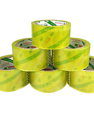 Yellow White Transparent Tape Sealing Tape Sealing Plastic Bandwidth 4.5Cm Express Vol. 78 Fcl Shipping