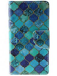 Pour Coque HTC Portefeuille Porte Carte Avec Support Clapet Coque Coque Intégrale Coque Forme Géométrique Dur Cuir PU pour HTCHTC Desire