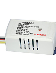 5 Line with Fire and Fire Protection Function Can Load 200W Light Source Microwave Radar Sensor Switch