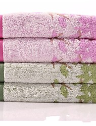 "1PC Full Cotton Hand Towel 13"" by 29"" Floral Pattern Super Soft Strong Water Absorption Capacity"