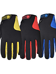 Full Finger Touch Screen, Wind Proof, Warm Motor, Mountain Bike, Cycling Gloves, Outdoor Ski Long Finger Gloves