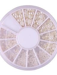 Стразы для ногтей6*6*0.5-1PCS-АБС-пластик