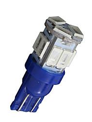 10x T10 W5W 192 168 194 7014 5730 11 11smd conduit lumières bleues latérales a mené la lumière de coin 12v