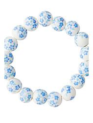 Bracelet Strand Bracelet Alloy Round Fashion Daily Jewelry Gift Blue,1pc