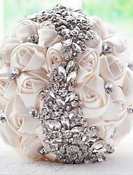 1 1 Ast Echtes Rosen Blumenkorb Künstliche Blumen 18*18*25