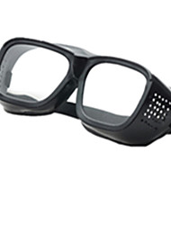 Black Color, PC Material Goggle, Paint Chemical Goggles A Pack of Two
