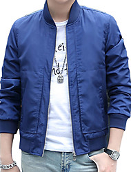In the spring of 2016 new men's jacket mens jacket thin slim Korean youth baseball uniform trend in spring and Autumn