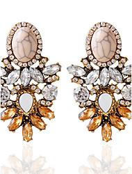 Autres Bijoux Femme Mode Mariage Soirée Alliage 1 paire Brun