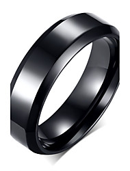 Unisex Stainless Steel Titanium Steel Ring Fashion Simple Party / Daily / Casual 1pc Band Rings