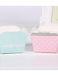 Exquisite Fresh Dots Cheese Packaging Carton Gift Material