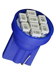 20X Ultra Blue Wedge T10 W5W 192 194 168 8-SMD LED Bulbs Gauge Instrument Light