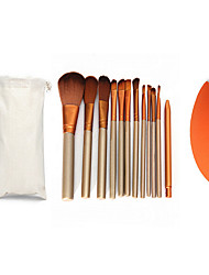14Contour Brush / Makeup Brushes Set / Blush Brush / Eyeshadow Brush / Lip Brush / Brow