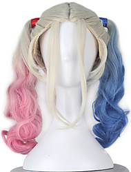 Superhéros Perruques de cosplay Bleu / Rose Film Costumes de cosplay Perruque N/C Féminin