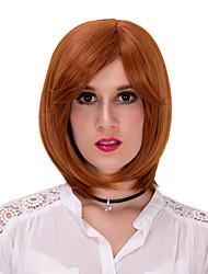 cabelo curto laranja lolita wig.wig, peruca dia das bruxas, peruca cor, peruca de moda, peruca natural, cosplay peruca.