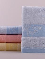 Bamboo Fiber Jacquard Short Bamboo Towels