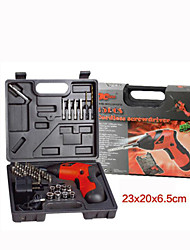 45 Sets of Small Household Electric Screwdriver Drill Dual 4.8V(Color Random Delivery)