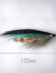 """500 pcs Cebos Señuelos duros Azul g/Onza,105 mm/4-1/16"""" pulgada,Plástico blando Pesca de baitcasting"""