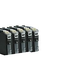 (Quantidade: um parque de 5) irmão MFC-cartuchos de impressora j2310 / j2510 lc563bk