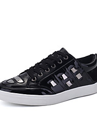 Men's Shoes Outdoor / Office & Career / Athletic / Casual Fashion Sneakers BlackWhite