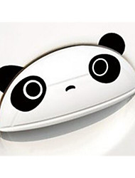 Geely Panda Cartoon Stickers Car Stickers Door Handle Personalized Engraving Stickers