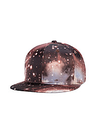 Fashion Women Men Street Dance Galaxy Sky Print Adjustable Patchwork 3D Baseball Cap