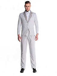 Cosplay Costumes Vampire Movie Cosplay White Solid Top / Pants Halloween / Christmas / New Year Male Polyester