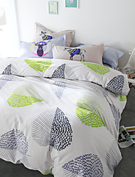 Soft brief style 4piece bedding sets print duvet cover Sets 100% Cotton Bedding Set Queen Size