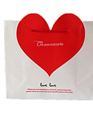 White Color, Other Material Packaging & Shipping Red Heart Gift Bags A Pack of Seven