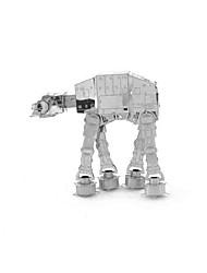 Quebra-cabeças Quebra-Cabeças 3D Blocos de construção Brinquedos Faça Você Mesmo 1 Metal Prateada Brinquedos Criativos & Pegadinhas