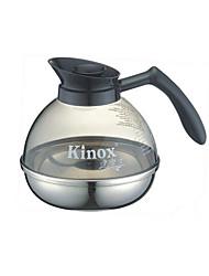 Kinox 304 section de fond du pot inox à café en acier seulement café chaud pot 1.8l