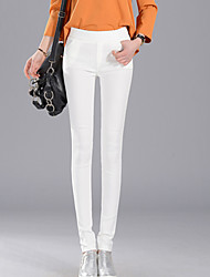 Women's Cotton Medium Solid Color Legging,Solid This Style is TRUE to SIZE.