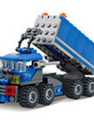 Truck assembled puzzle