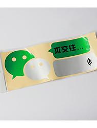 WeChat наклейки наклейки автомобиль автомобиль с чистого листа смешной текст личности модификации тела отражающей 06-2d \ 831
