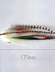 """500 pcs Cebos Señuelos duros fantasma g/Onza,170 mm/6-1/2"""" pulgada,Plástico blando Pesca de baitcasting"""