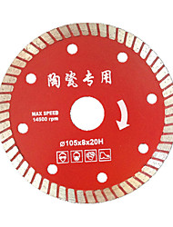 105 Ultra-Thin Diamond Saw Sharp Sword Ceramic Tiles Marble Tile Cutting Sheets Of Corrugated Sheets Hot
