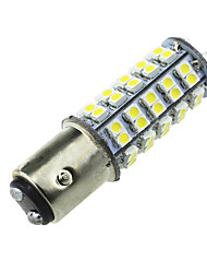 4x sehr helle weiße BAY15D 1157 68 smd Auto Schwanz Stop Bremsleuchte LED-Lampe 12v